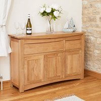 Seldon Contemporary Sideboard In Oak With 3 Doors