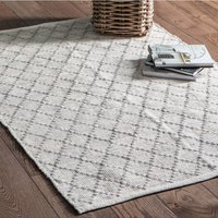 Solka Cotton And Wool Rug In Natural