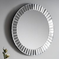 Product photograph showing Sonata Small Round Wall Mirror