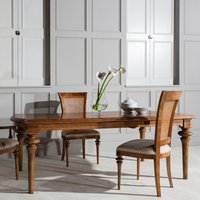 Spire Wooden Large Extending Dining Table In Walnut