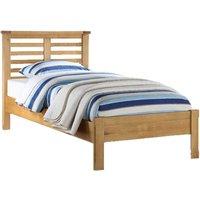 Tertia Wooden Single Bed In Oak