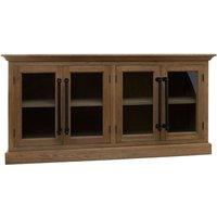 Tobik Wooden 4 Doors Sideboard In Natural Oak