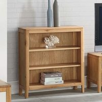 Trimble Low Bookcase In Oak With 2 Shelves