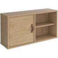 Upton Box Storage Unit In Kendal Oak With Kendal Oak Door And Shelf