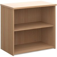 Product photograph showing Upton Home And Office Wooden Bookcase In Beech With 1 Shelf