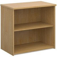 Product photograph showing Upton Home And Office Wooden Bookcase In Oak With 1 Shelf