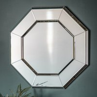 Product photograph showing Vienna Octagon Wall Bedroom Mirror