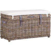 Wantagh Wooden Storage Trunk And Bench In Kooboo Grey