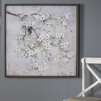 Wester Spring Blossom Framed Wall Art