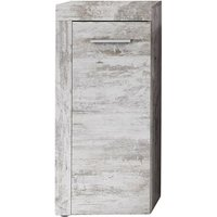 Product photograph showing Wildon Wooden Bathroom Storage Cabinet In Canyon White Pine