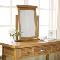 Woburn Wooden Mirror In Oak