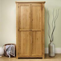 Woburn Wooden Wardrobe In Oak With 2 Doors