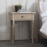 Wycombe Bedside Cabinet In Oak With 1 Drawer