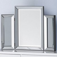 Zeus Modern Folding Dressing Table Mirror