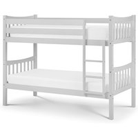Product photograph showing Zodiac Wooden Bunk Bed In Grey