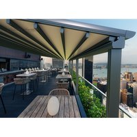 Product photograph showing Luna Retractable Awning 4 5m Wide Luna Range