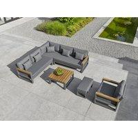 Product photograph showing Soho Corner Lounge Unit Fsc Certified