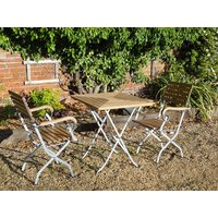 Clarence Luxury Two Chair Dining Set | FSC® Certified