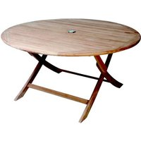 Product photograph showing Henley 1 2m Round Folding Table
