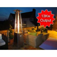 Product photograph showing Athena Plus Gas Patio Heater Free Weather Cover