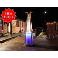 Product photograph showing Athena Led Plus Gas Patio Heater Free Weather Cover