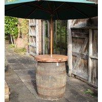 Old Oak Barrel Poseur Table | FSC® Certified