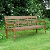 Product photograph showing Java Antique Bench 1 2m