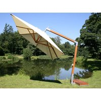 Product photograph showing Bambrella 4m X 3m Fsc Certified Side-wind Cantilever Parasol