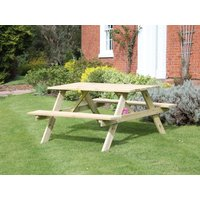 Product photograph showing Picnic Table 1 5m