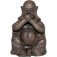 Product photograph showing Buddha Speak No Evil Garden Ornament