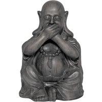 Product photograph showing Buddha Speak No Evil Garden Ornament