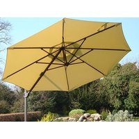 Product photograph showing Cantilever Parasol Cover - 350cm Diameter Canopy