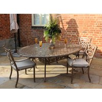 Casino Oval Table and 4 Chairs set