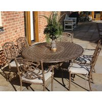 Casino 6 Seater Oval Table and Chairs set