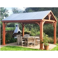 Product photograph showing Cedar Gazebo Fsc Certified