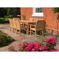 Product photograph showing Chelsea 8 Chair Dining Set