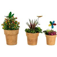 Cocopots Spring Time (Set Of Three)