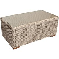 Product photograph showing Cove Coffee Table - Outdoor Sega Weave