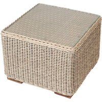 Product photograph showing Cove Side Table - Outdoor Sega Weave