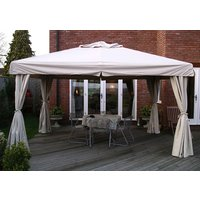 Product photograph showing Deluxe Wooden Gazebo - 4m X 3m
