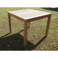 Product photograph showing Chelsea Square Teak Table