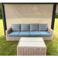 Product photograph showing Fiji 4 Seater Sofa