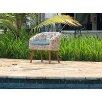 Product photograph showing Fiji Bistro Chair