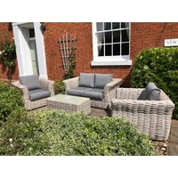 Product photograph showing Fiji Wave 2 Seater Sofa Suite