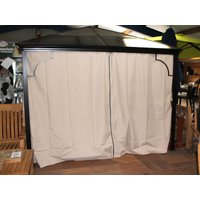 Product photograph showing Replacement 3m X 3m Four Seasons Gazebo Curtains