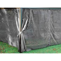Product photograph showing Junior Gazebo 3 X 3m Mosquito Curtains