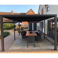 Product photograph showing Galaxy Gazebo - 3 5 X 5 4m