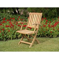 Product photograph showing Henley Folding Armchair
