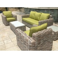 Product photograph showing Fiji 3 Seater Sofa Suite