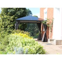 Product photograph showing Four Seasons Junior Gazebo 3 X 3m